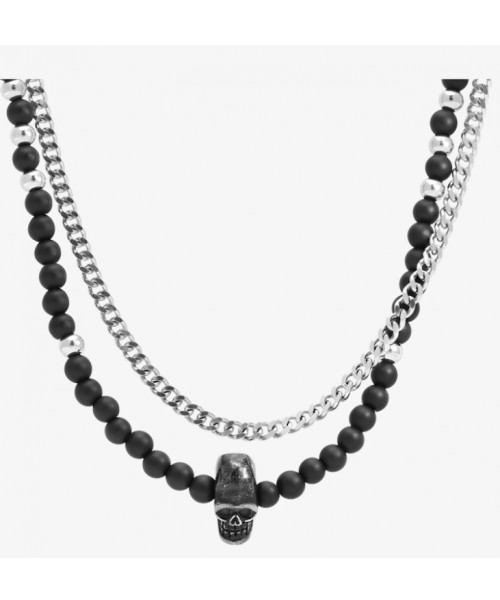 ROCHET necklace for men. SKULL collection