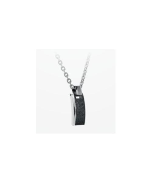ROCHET necklace for men. ATLANTA . Steel ,