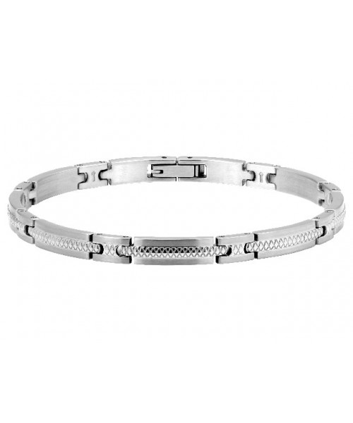 ROCHET bracelet for men. Driver. Steel.