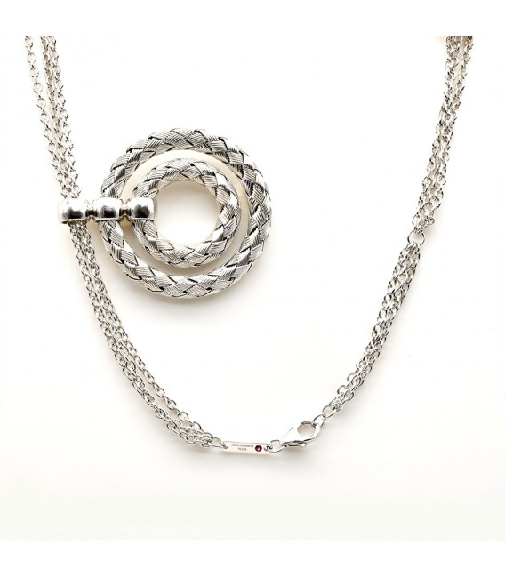 The Fifth Season by Roberto Coin. Silver necklace.