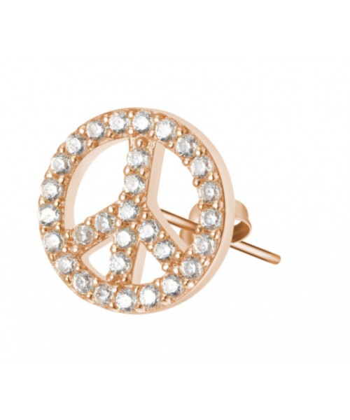 ROSATO earring . Symbol of Peace. RZO 024.
