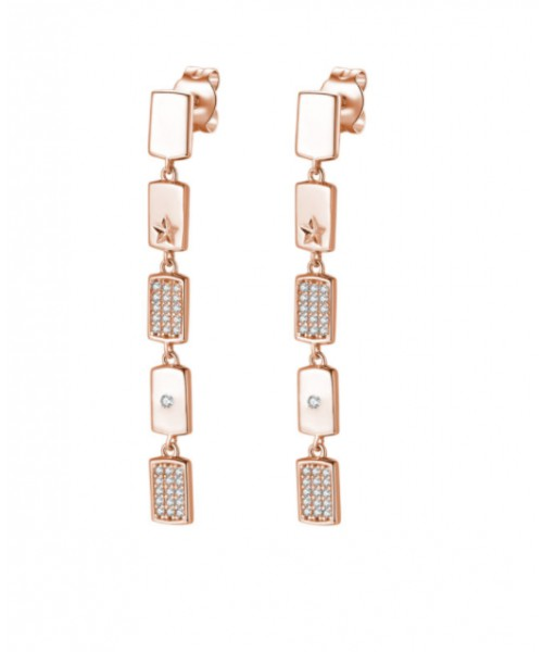 Rosato earrings. Silver. RZFU26.