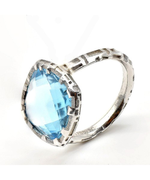 The Fifth Season by Roberto Coin. Blue topaz ring