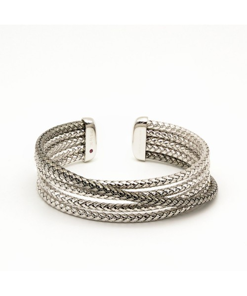 The Fifth Season by Roberto Coin. Silver bracelet.