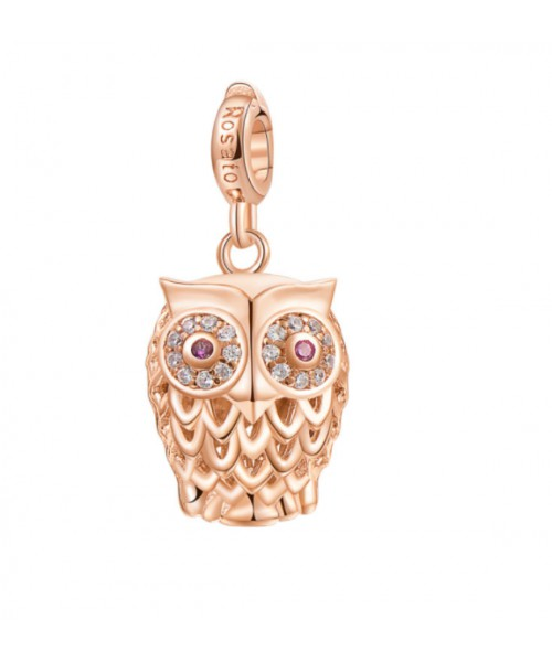 ROSATO charm in the shape of an Owl. RZ002.